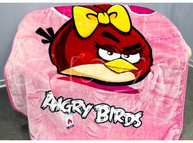 Плед Angry Birds 403229